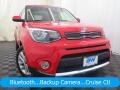 Kia Soul + Inferno Red photo #1