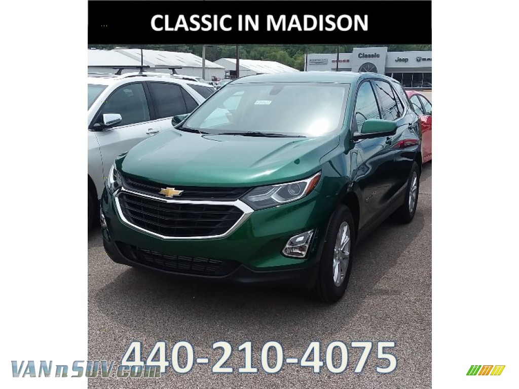 Ivy Metallic / Jet Black Chevrolet Equinox LT AWD