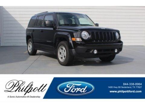 Black 2017 Jeep Patriot Sport