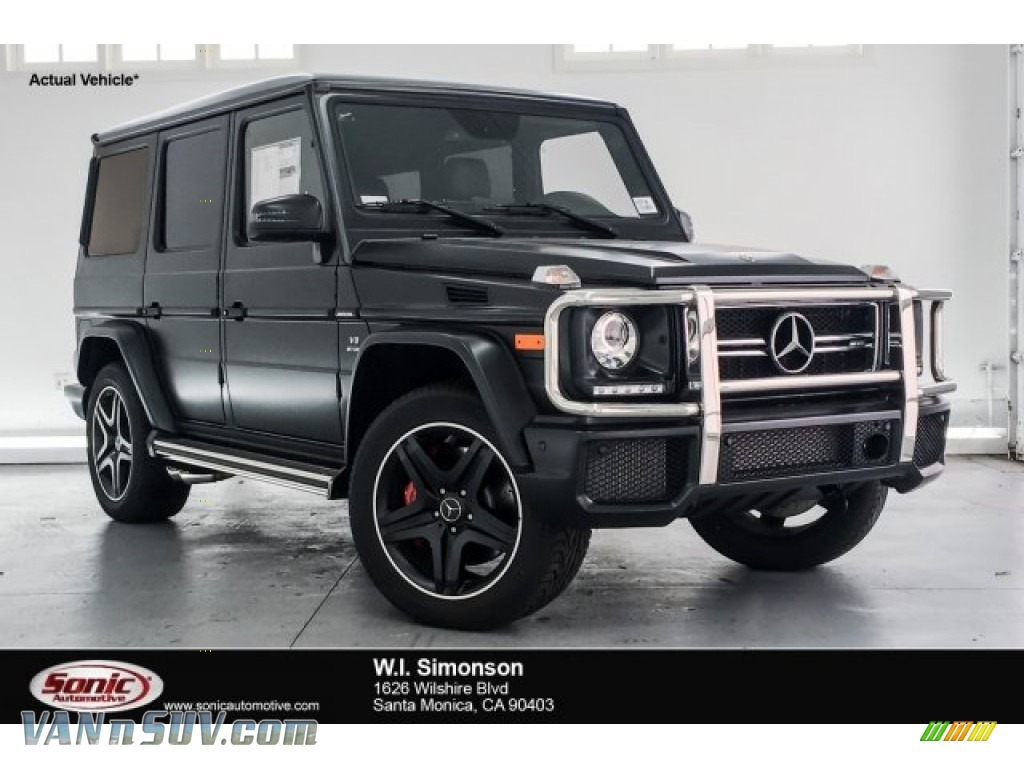designo Night Black Magno (Matte) / designo Black Mercedes-Benz G 63 AMG