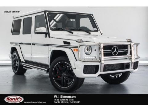 Polar White 2018 Mercedes-Benz G 63 AMG