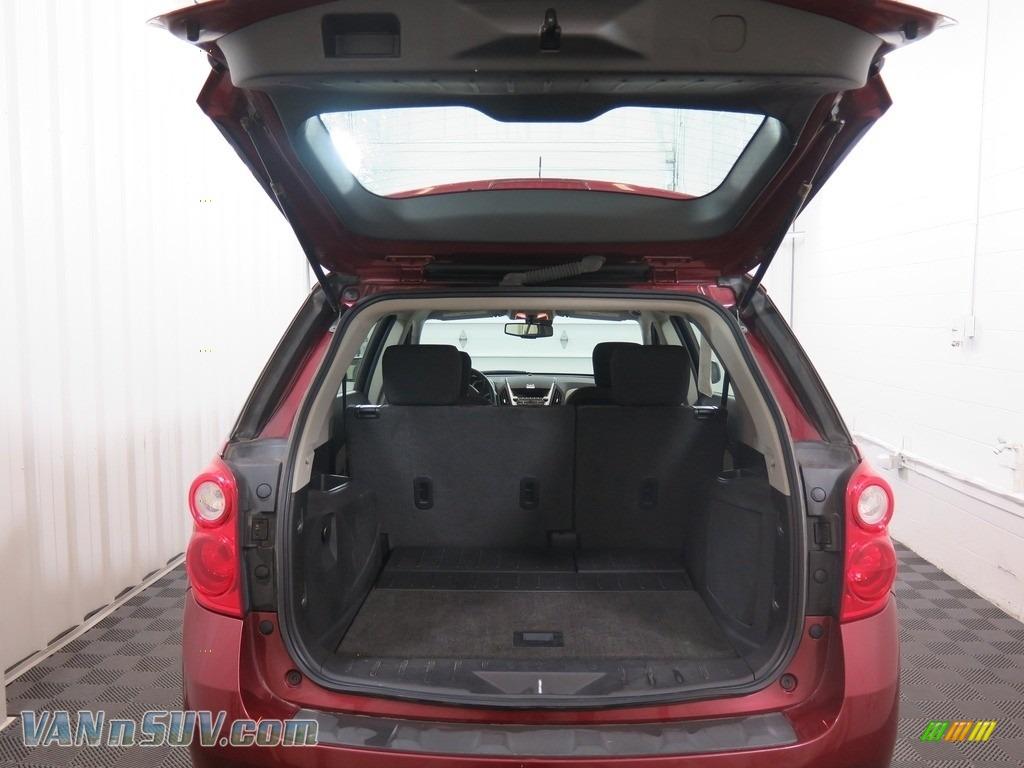 2010 Equinox LS AWD - Cardinal Red Metallic / Jet Black/Light Titanium photo #26
