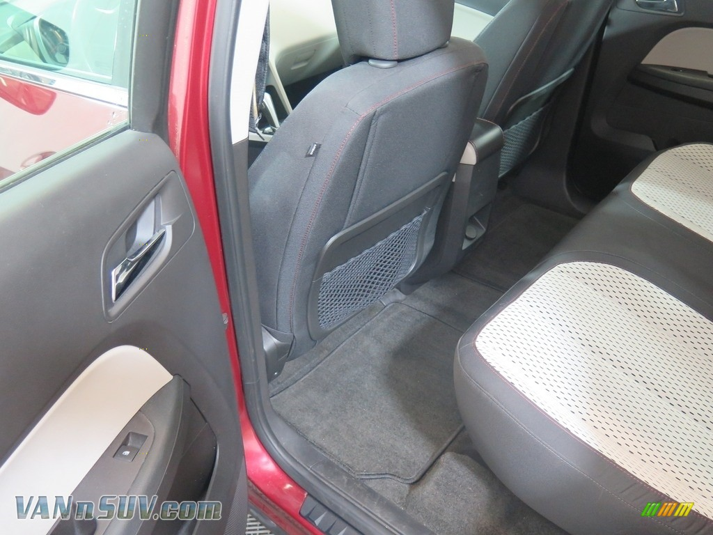 2010 Equinox LS AWD - Cardinal Red Metallic / Jet Black/Light Titanium photo #31