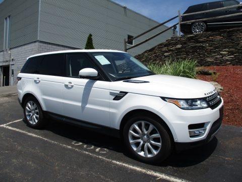 Fuji White 2014 Land Rover Range Rover Sport HSE