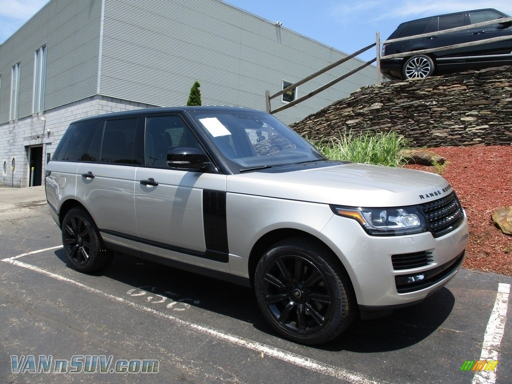 2017 Range Rover Supercharged - Aruba Metallic / Ebony/Ebony photo #1