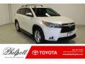 Toyota Highlander Limited Blizzard Pearl White photo #1