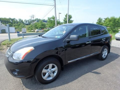 Super Black 2012 Nissan Rogue S AWD