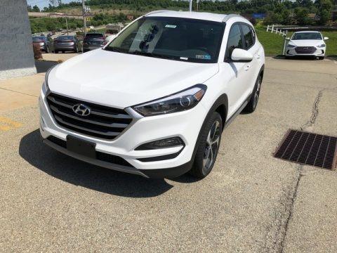 Dazzling White 2018 Hyundai Tucson Sport AWD