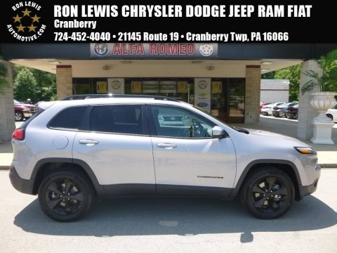 Billet Silver Metallic 2018 Jeep Cherokee Latitude 4x4