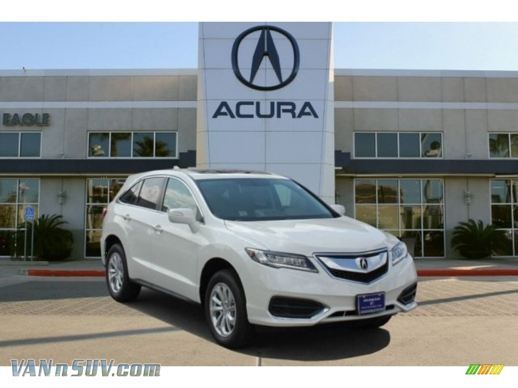 2016 RDX  - White Diamond Pearl / Parchment photo #1