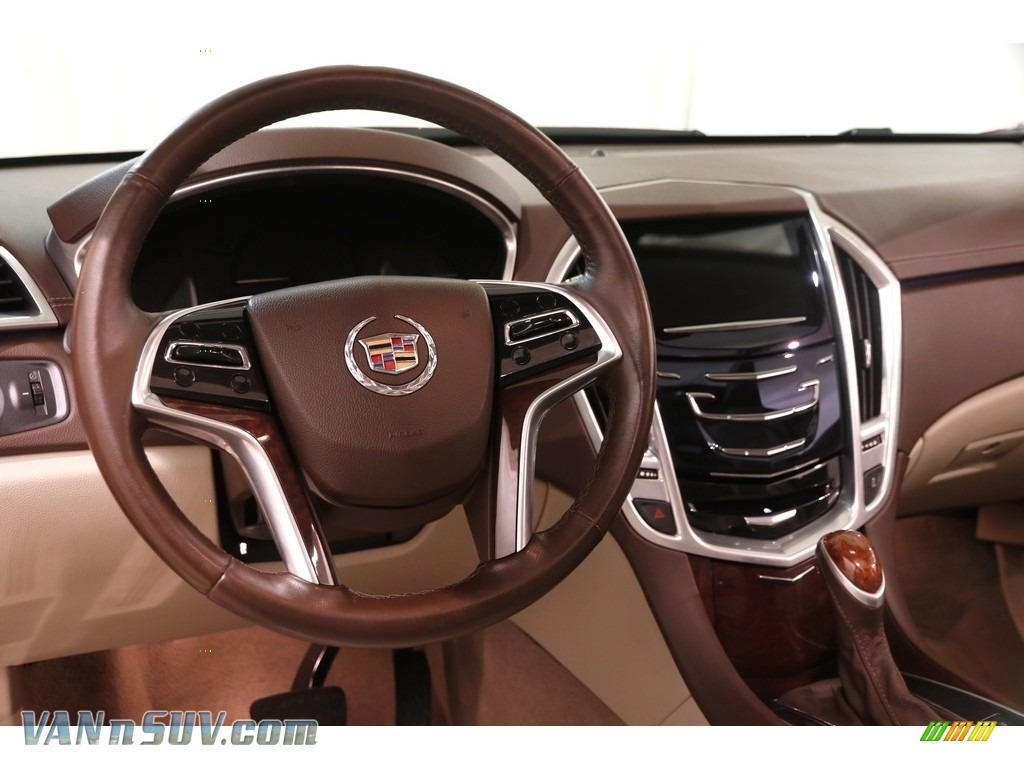 2014 SRX Luxury - Crystal Red Tintcoat / Shale/Brownstone photo #8