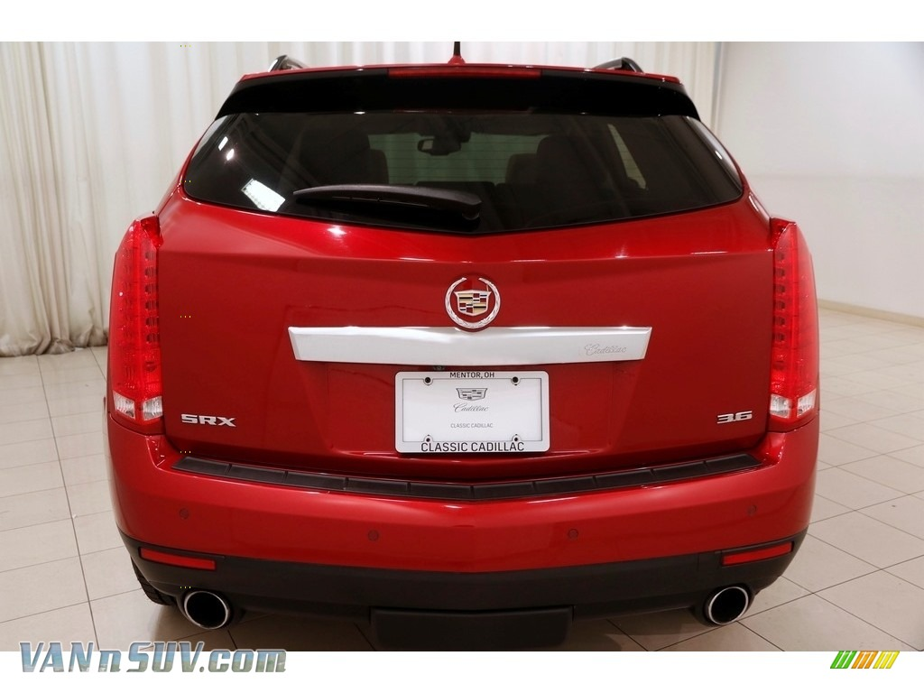 2014 SRX Luxury - Crystal Red Tintcoat / Shale/Brownstone photo #27