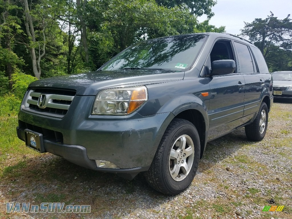 2006 Pilot EX 4WD - Steel Blue Metallic / Gray photo #1