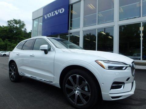Crystal White Metallic 2018 Volvo XC60 T8 eAWD Plug-in Hybrid