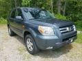 Honda Pilot EX 4WD Steel Blue Metallic photo #7