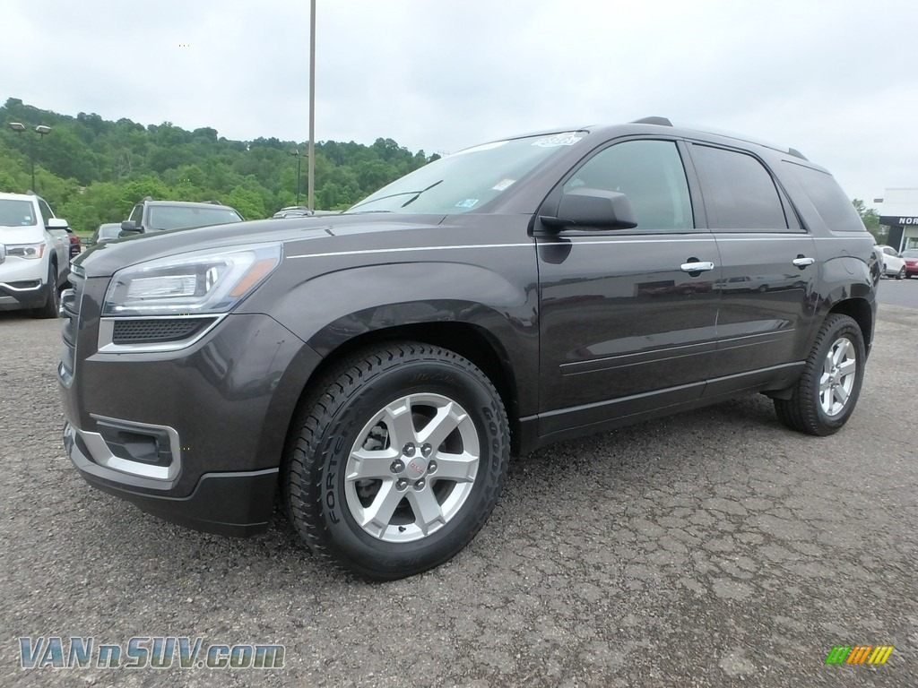 2015 Acadia SLE AWD - Iridium Metallic / Ebony photo #1