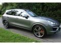 Porsche Cayenne Turbo Meteor Grey Metallic photo #8