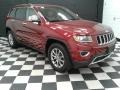 Jeep Grand Cherokee Limited 4x4 Deep Cherry Red Crystal Pearl photo #4
