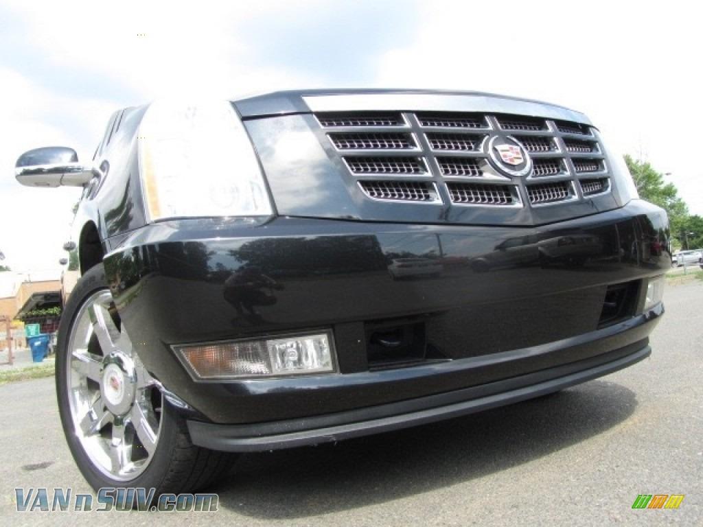 2012 Escalade Luxury AWD - Black Raven / Ebony/Ebony photo #1
