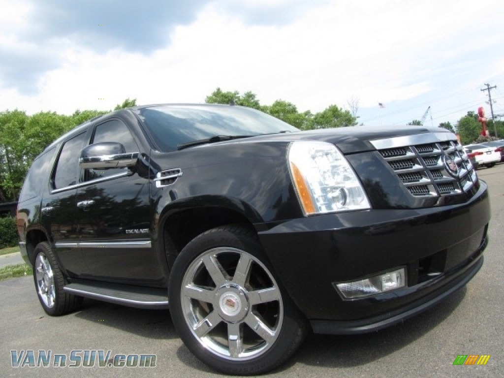 2012 Escalade Luxury AWD - Black Raven / Ebony/Ebony photo #2