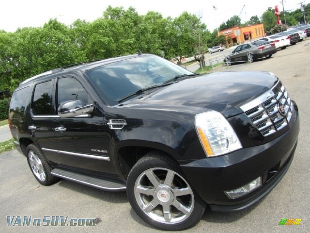 2012 Escalade Luxury AWD - Black Raven / Ebony/Ebony photo #3