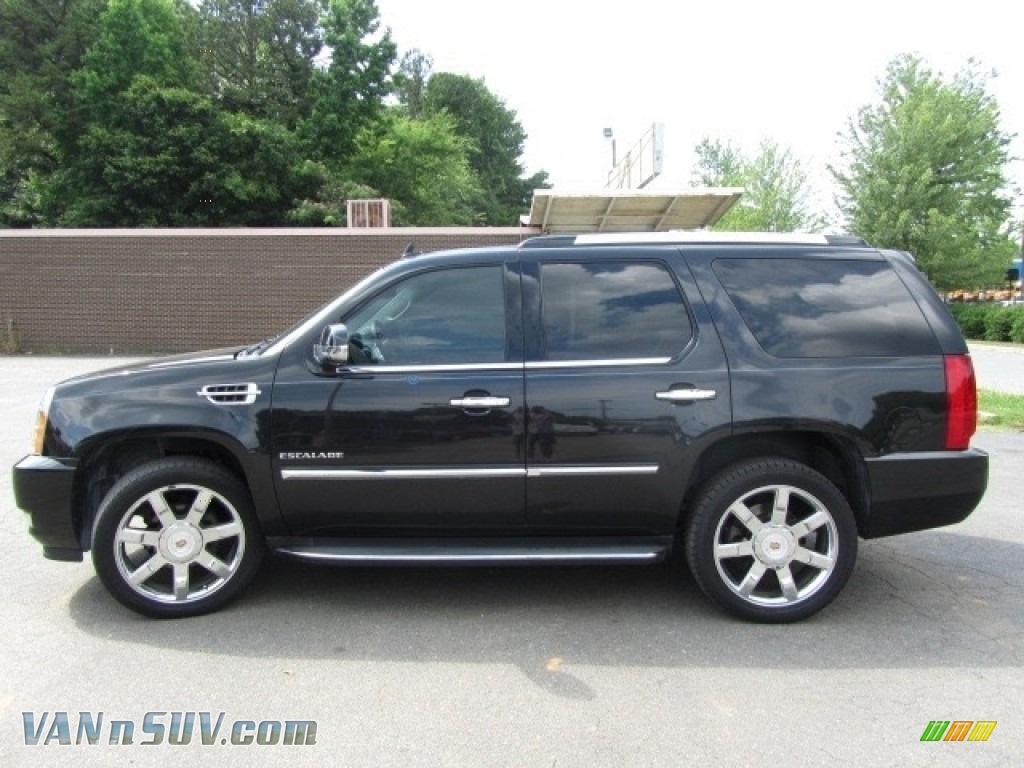2012 Escalade Luxury AWD - Black Raven / Ebony/Ebony photo #7