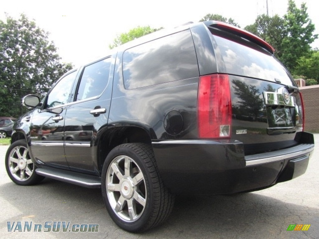 2012 Escalade Luxury AWD - Black Raven / Ebony/Ebony photo #8
