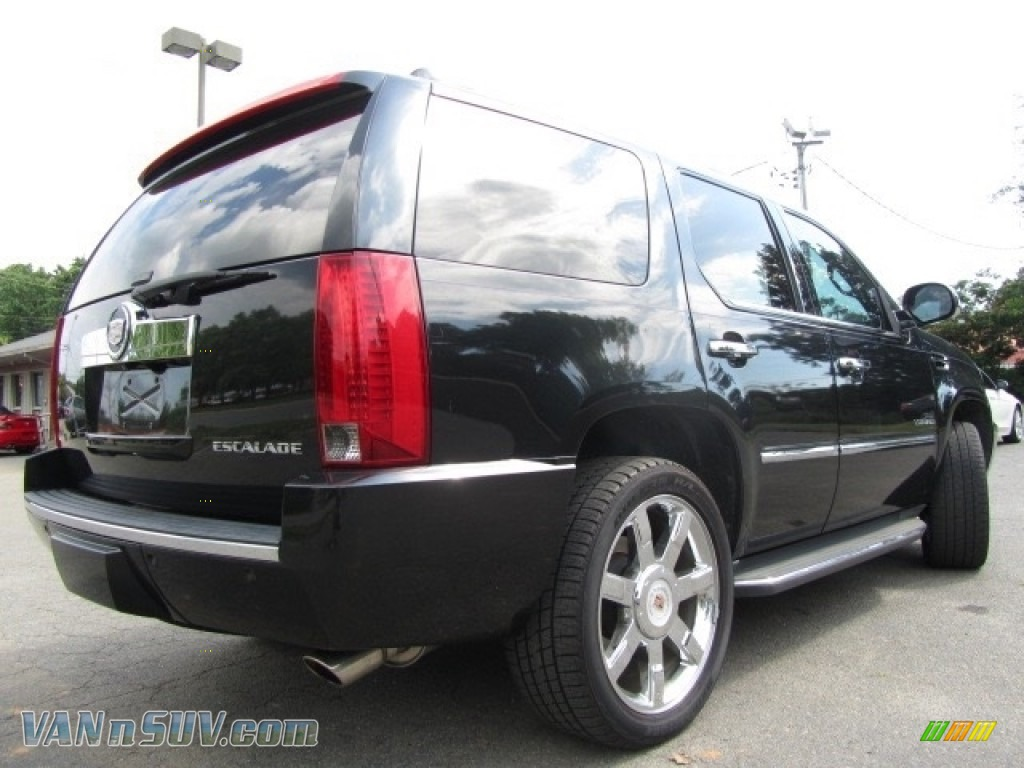 2012 Escalade Luxury AWD - Black Raven / Ebony/Ebony photo #10