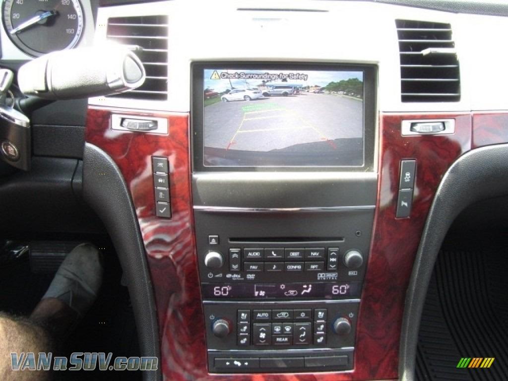 2012 Escalade Luxury AWD - Black Raven / Ebony/Ebony photo #16