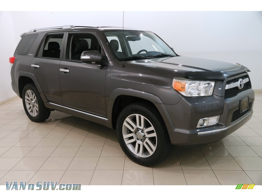 2011 4Runner Limited 4x4 - Magnetic Gray Metallic / Black Leather photo #1