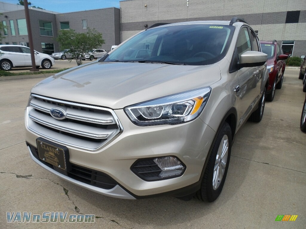 2018 Escape SEL 4WD - White Gold / Charcoal Black photo #1