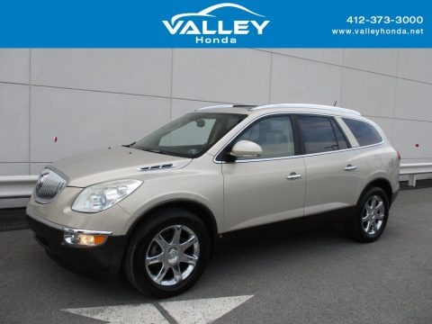 Gold Mist Metallic 2008 Buick Enclave CXL AWD