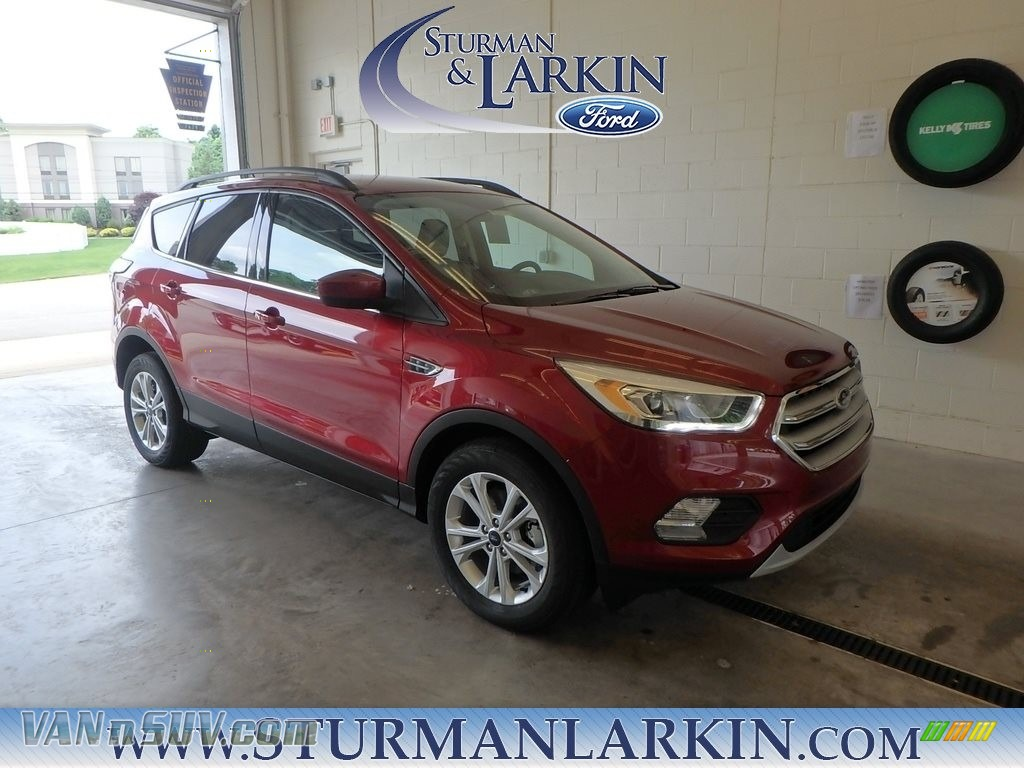 2018 Escape SEL - Ruby Red / Medium Light Stone photo #1