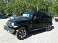 Jeep Wrangler Unlimited Sahara 4x4 Black photo #1