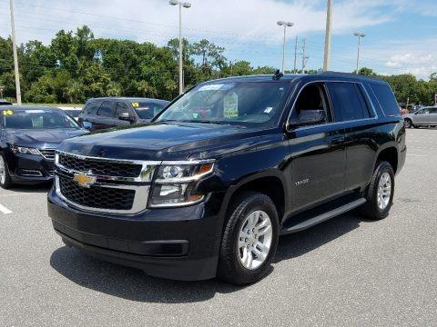 Black 2018 Chevrolet Tahoe LT