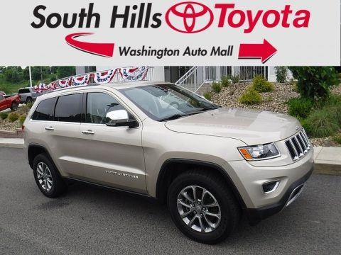 Cashmere Pearl 2015 Jeep Grand Cherokee Limited 4x4