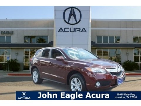 Basque Red Pearl II 2015 Acura RDX Technology