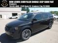 Dodge Grand Caravan SE Black Onyx Crystal Pearl photo #1