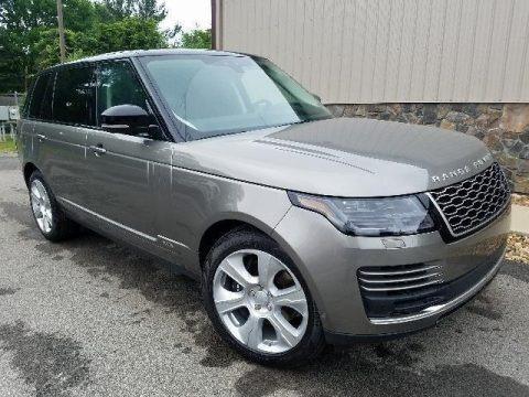 Silicon Silver Metallic 2018 Land Rover Range Rover Supercharged LWB