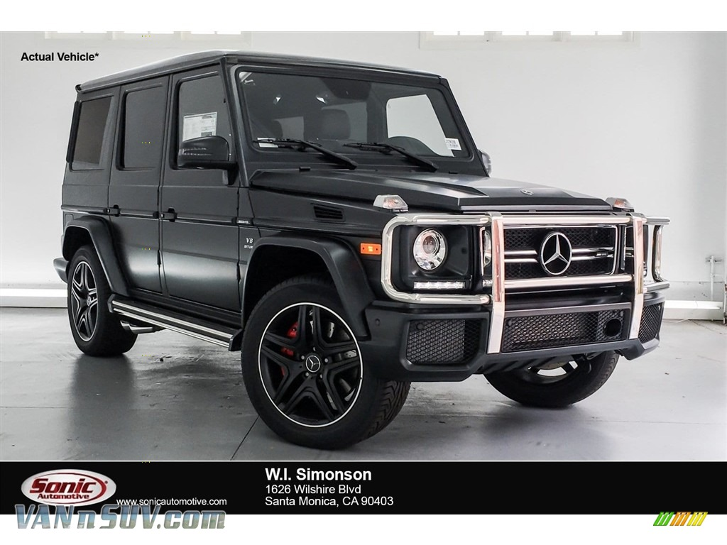 2018 G 63 AMG - designo Night Black Magno (Matte) / designo Black photo #1