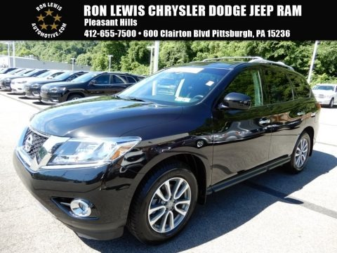 Magnetic Black 2016 Nissan Pathfinder SV 4x4