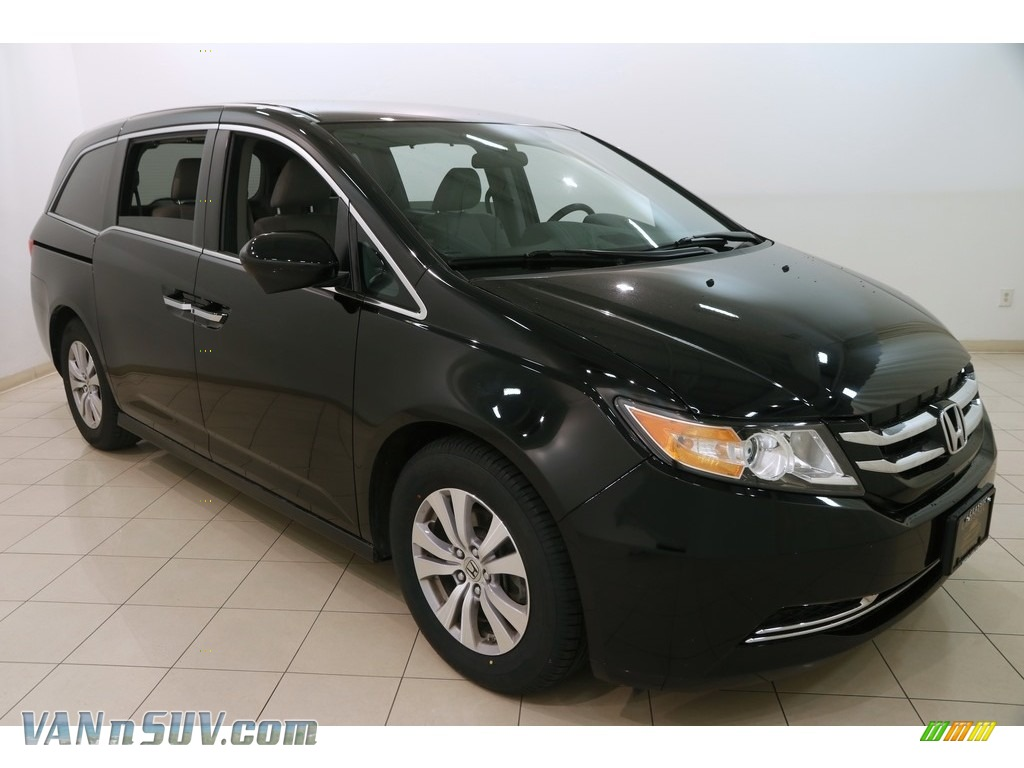 2015 Odyssey EX - Crystal Black Pearl / Gray photo #1