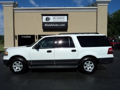 Oxford White 2010 Ford Expedition EL XLT 4x4