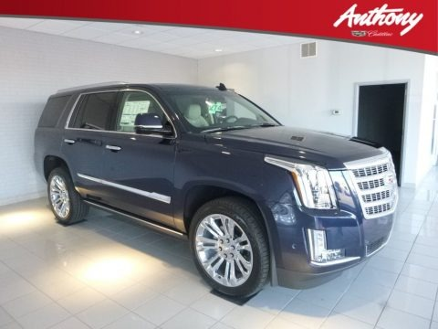 Dark Adriatic Blue Metallic 2018 Cadillac Escalade Premium Luxury 4WD