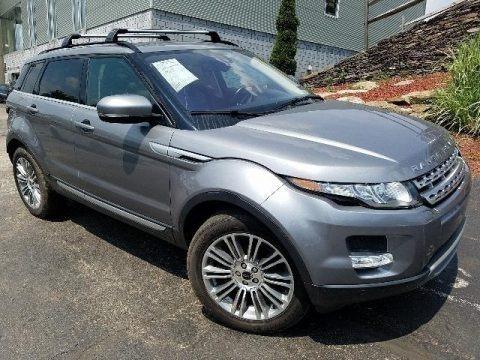 Orkney Grey Metallic 2012 Land Rover Range Rover Evoque Prestige