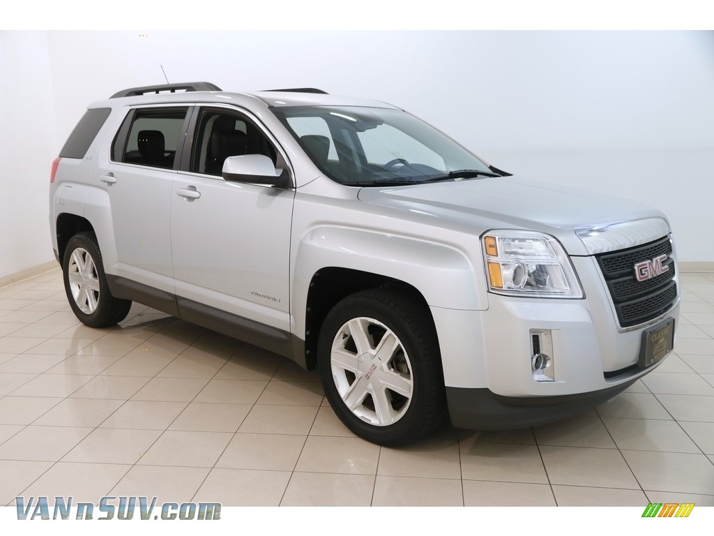 2012 Terrain SLT AWD - Quicksilver Metallic / Jet Black photo #1