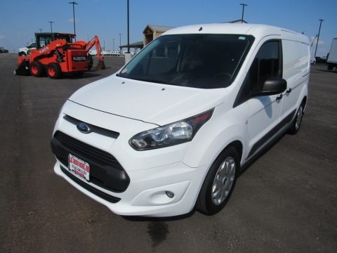 Frozen White 2014 Ford Transit Connect XLT Van