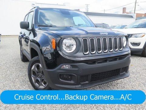 Black 2018 Jeep Renegade Sport 4x4
