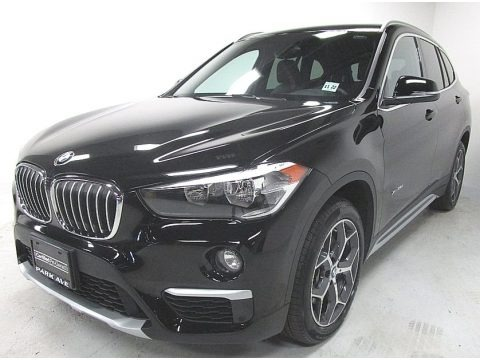 Jet Black 2018 BMW X1 xDrive28i