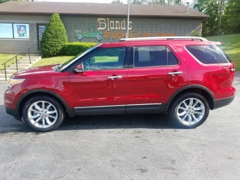 Ruby Red 2015 Ford Explorer Limited 4WD